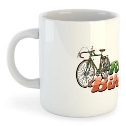 Taza Ciclismo Retro Bikers