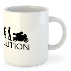 Taza Motociclismo Evolution Motard