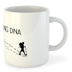 Taza Montañismo Hikking DNA