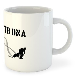 Taza Ciclismo MTB DNA