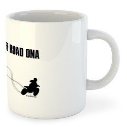 Taza Motociclismo Off Road DNA