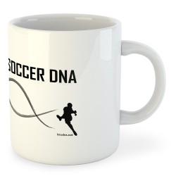 Taza Fútbol Soccer DNA