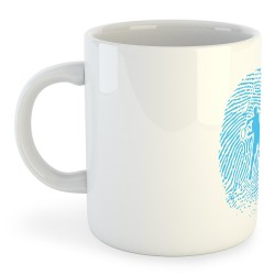 Taza Tennis Tennis Fingerprint