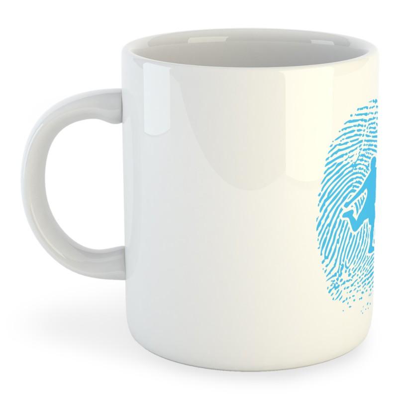 Taza Fútbol Football Fingerprint