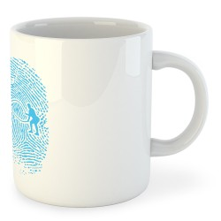 Taza Artes Marciales Crossfit Fingerprint