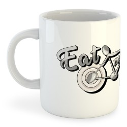 Taza Ciclismo Eat my Dust
