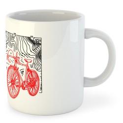 Taza Ciclismo Topographic