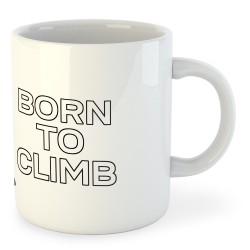 Taza Escalada Born to Climb