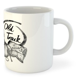 Taza Montañismo Old Track