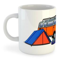 Taza Montañismo Hippie Van Trek