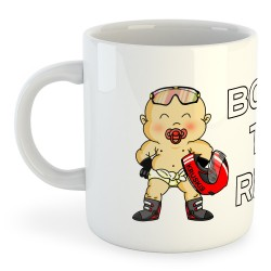 Taza Motociclismo Born to Ride