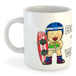 Taza Deportes Extremos Born to Wake