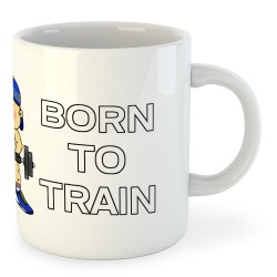 Taza Artes Marciales Born to Train