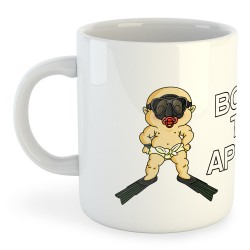 Taza Buceo Born to Apnea