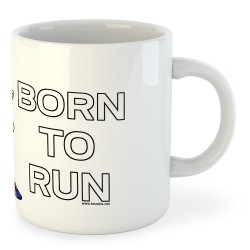 Taza Running Born to Run