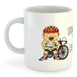 Taza Ciclismo Born to Ride