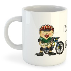 Taza Ciclismo Born to BMX