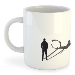 Taza Buceo Shadow Spearfish