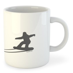 Taza Esquí Shadow Snow