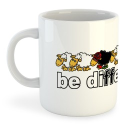 Taza Ciclismo Be Different Bike