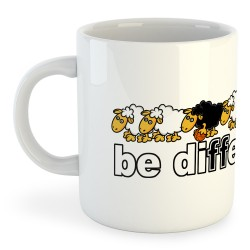 Taza Fútbol Be Different Basket